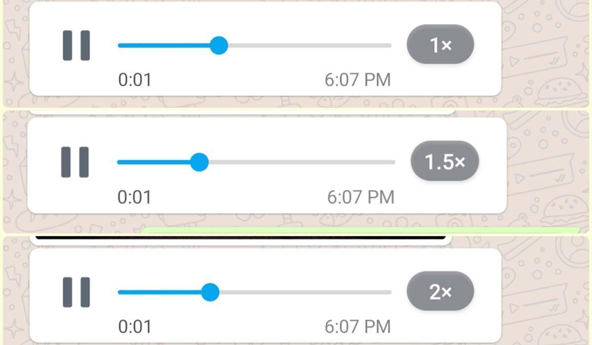 acelerar audio whatsapp hasta 2x nueva actualizacion
