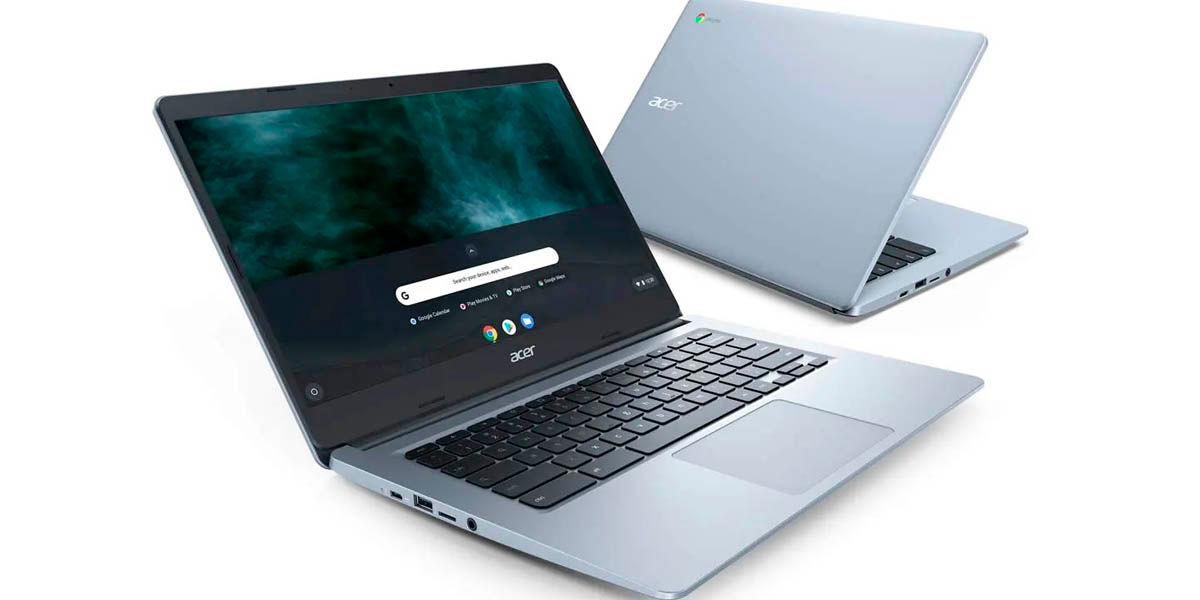 acer chromebook 314 portátil ligero asequible con chrome os y apps android