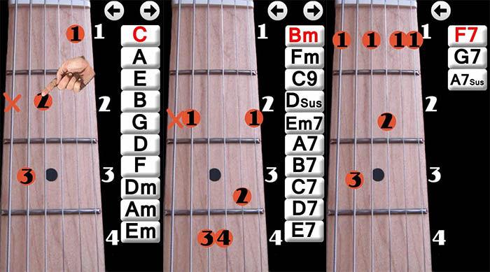 acordes de aprende a tocar guitarra