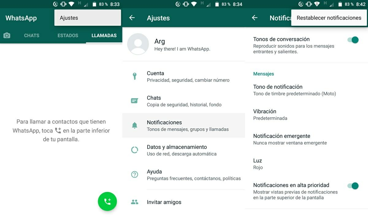 activa las notificaciones de whatsapp
