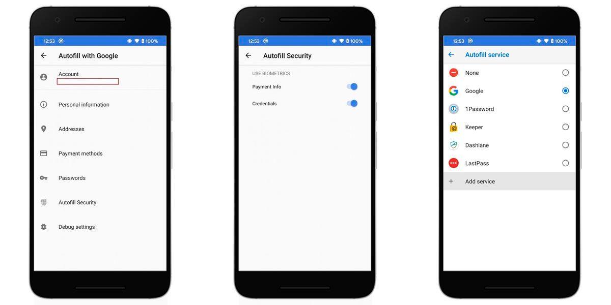activar autofill android google