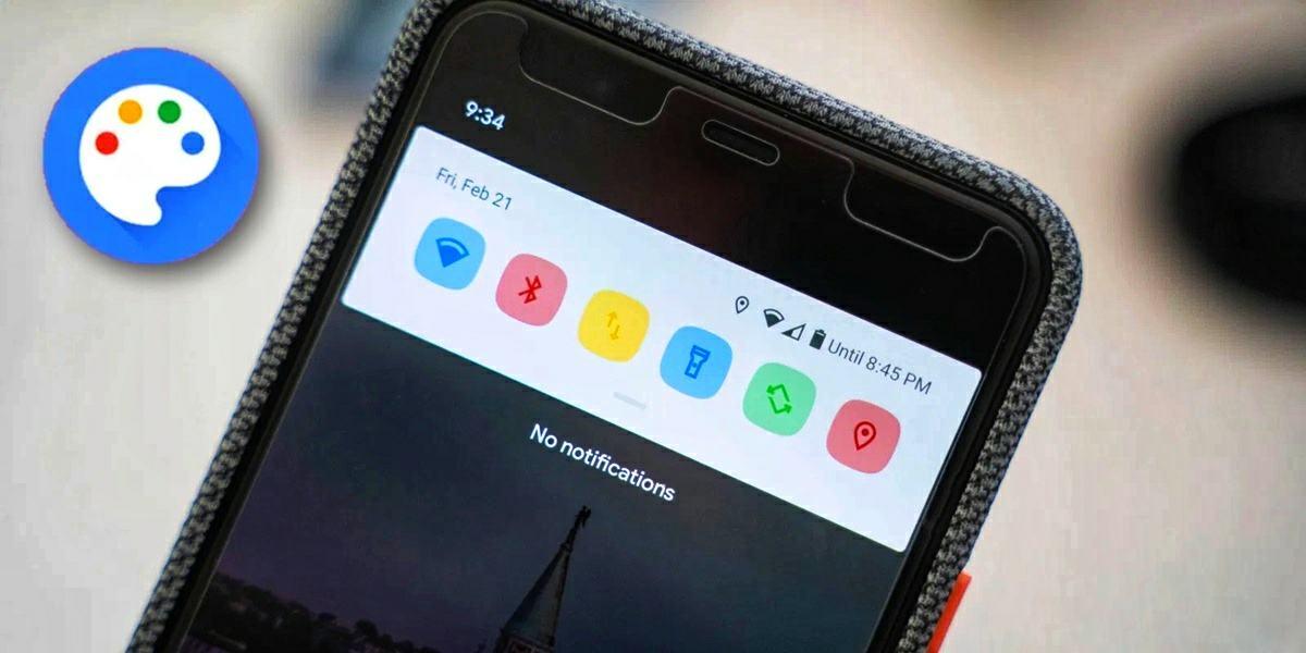 activar los temas ocultos de android 10 en los sony xperia