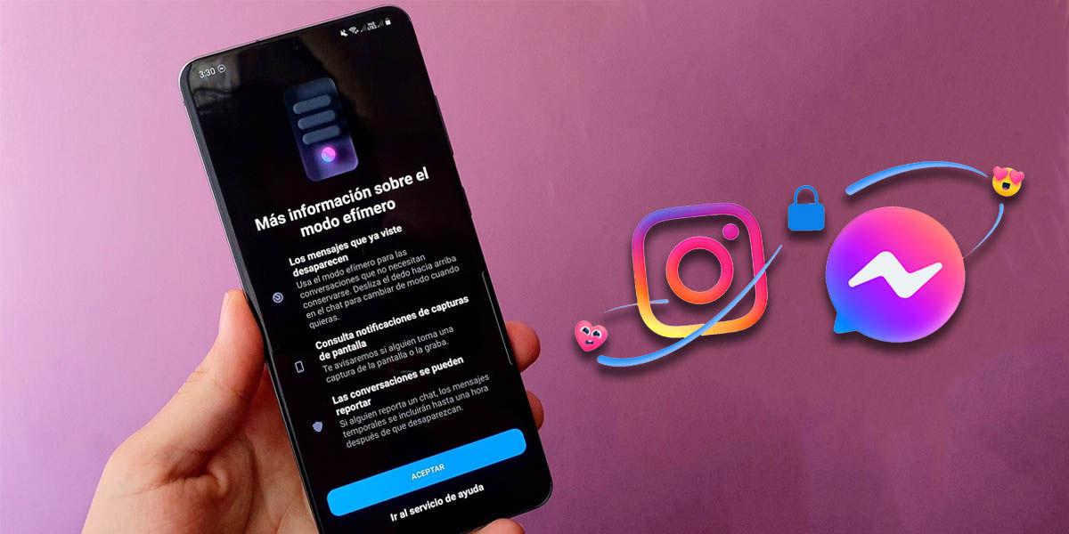 activar manera efímero instagram messenger