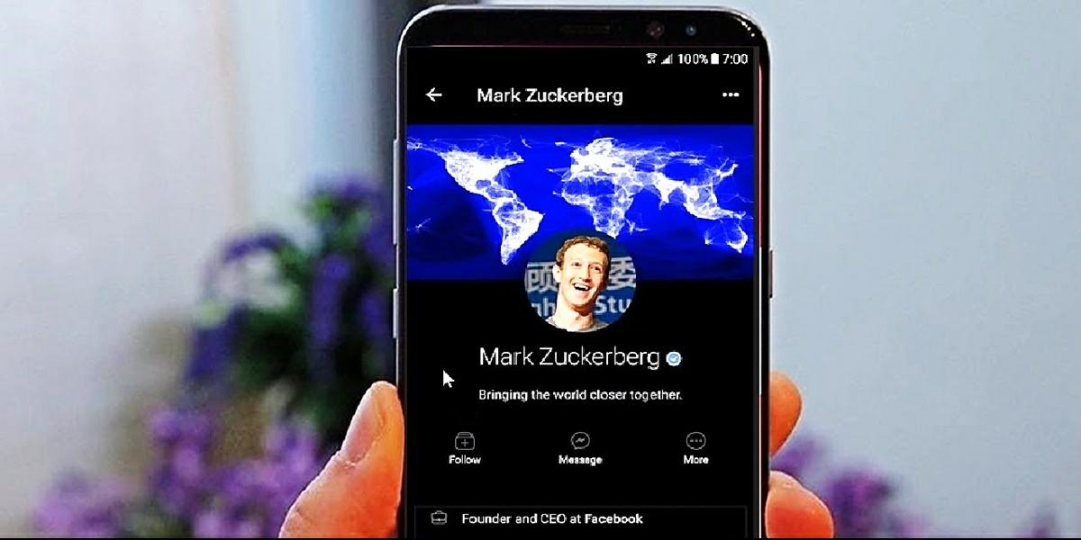 activar modo oscuro facebook lite