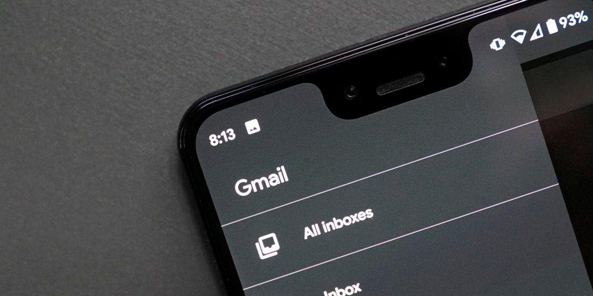 activar tema oscuro gmail android antiguo