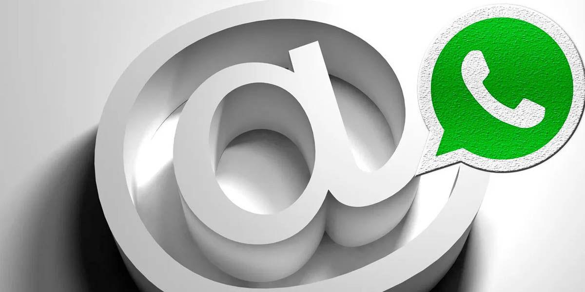 activar whatsapp con correo electrónico