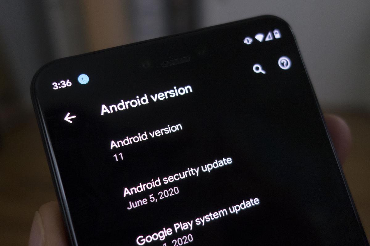 actualización android 11