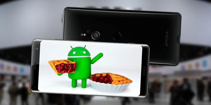 actualizacion android pie sony xperia