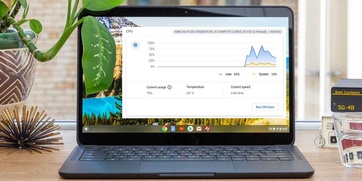 actualización chrome os rendimiento chromebook