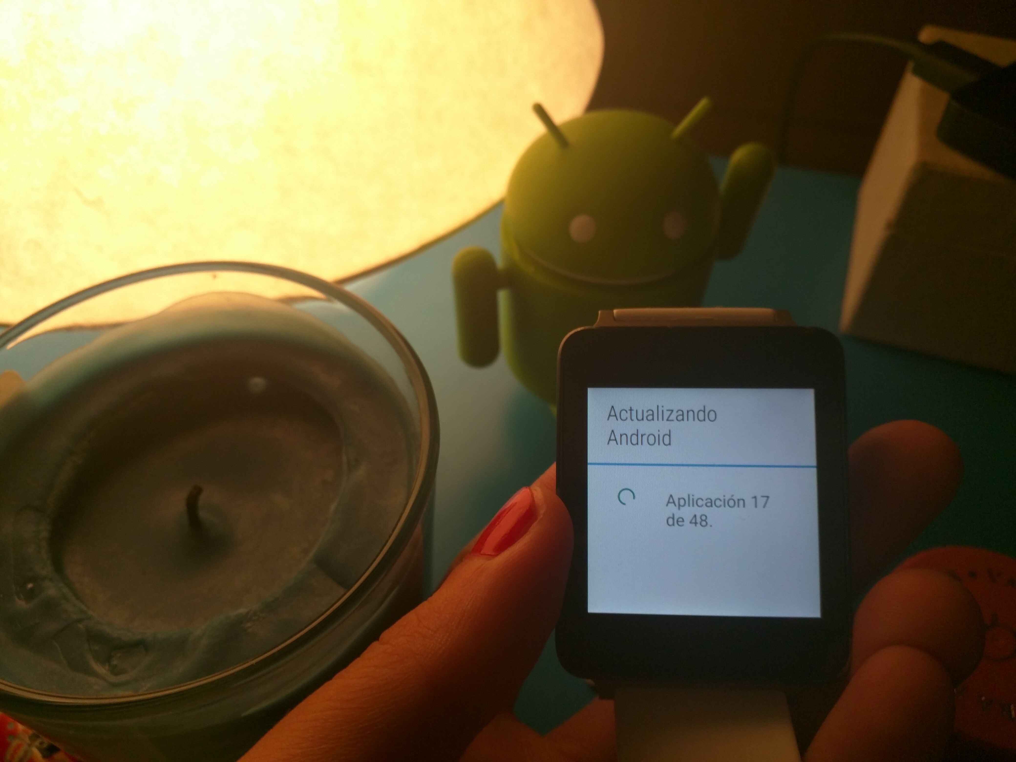 actualizar el LG G Watch a Android Wear 1.3