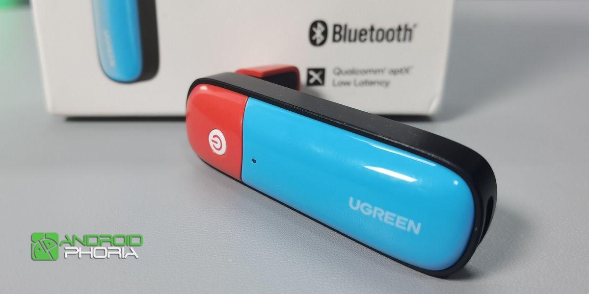 adaptador bluetooth ugreen para nintendo switch