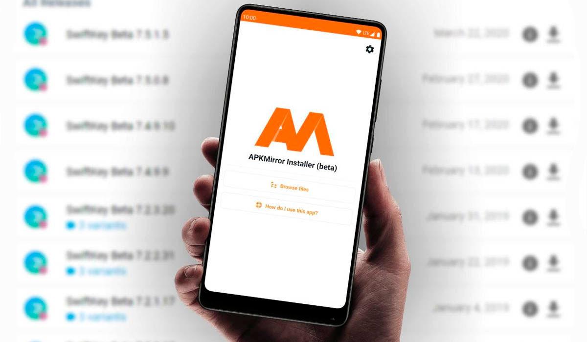 administra archivos apkm con apkmirror installer