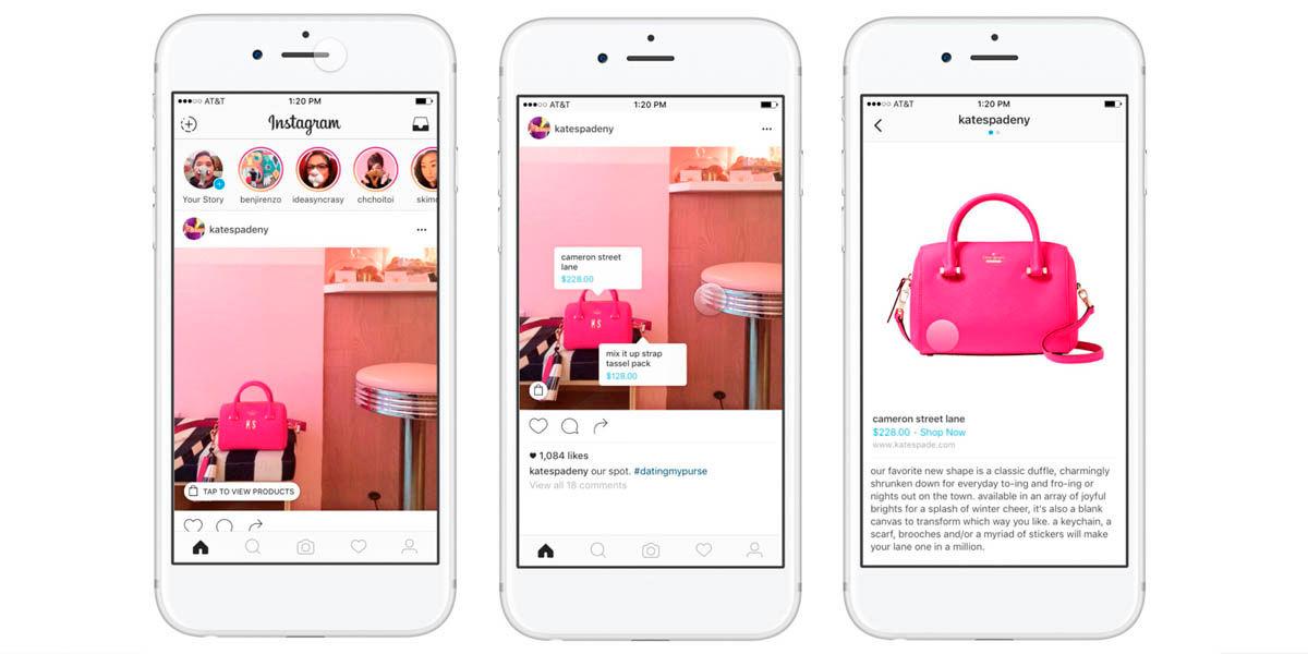 agregar etiquetas de compras a tus publicaciones de Instagram