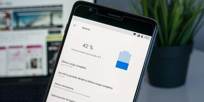 ahorrar batería en Android 8