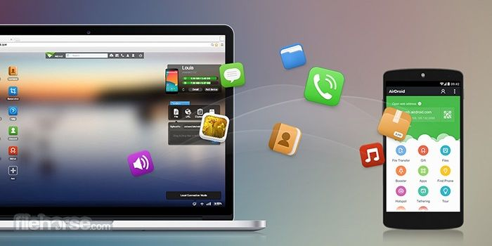 airdroid files