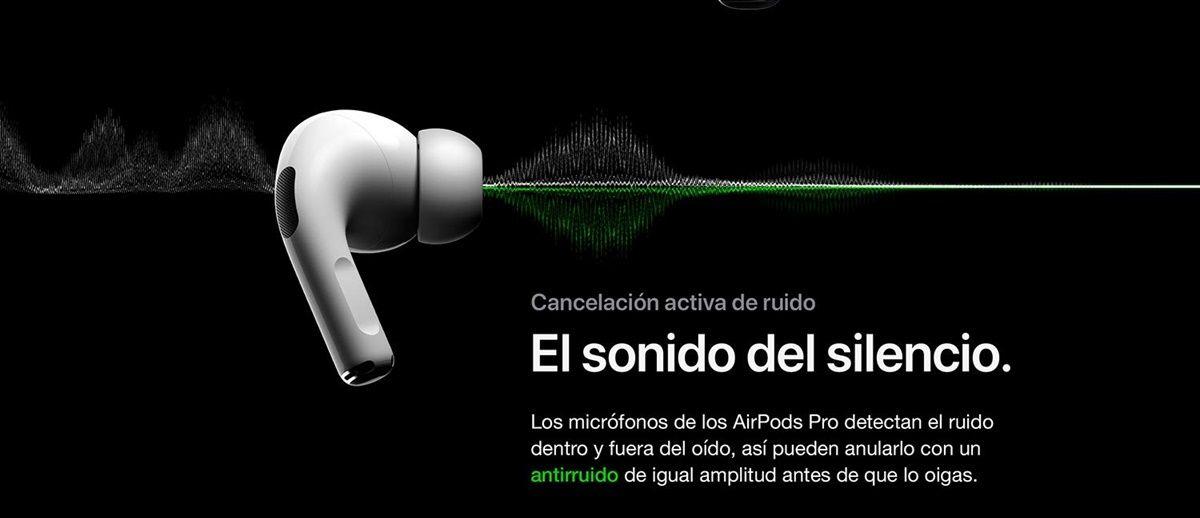 airpods pro cancelacion de ruido activa