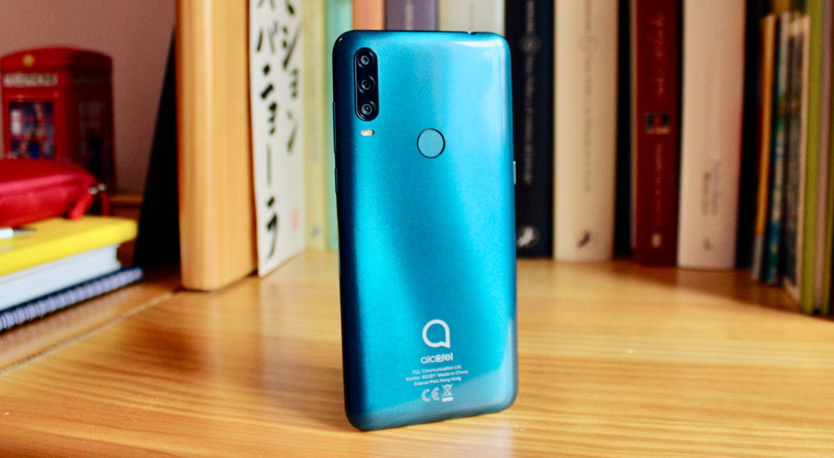 alcatel 1se 2020 móvil asequible triple cámara