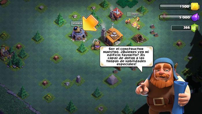aldea del constructor clash of clans