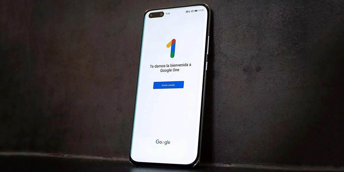 almacenamiento ampliado google one