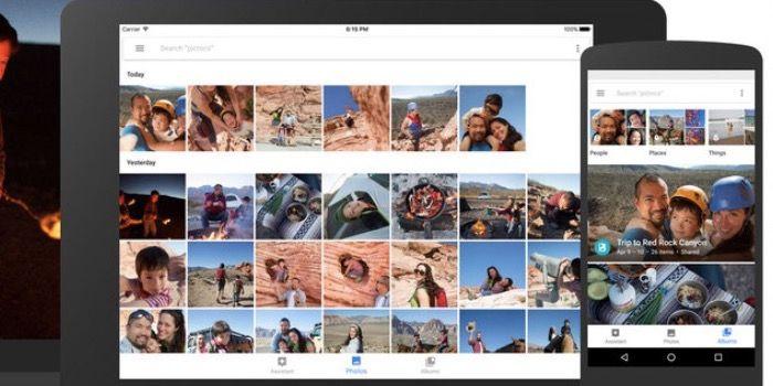 almacenamiento ilimitado de Google Fotos