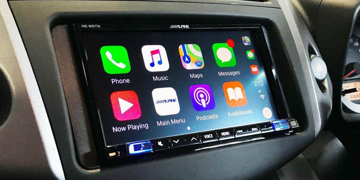alpine ILX-702D radio con android auto y apple carplay