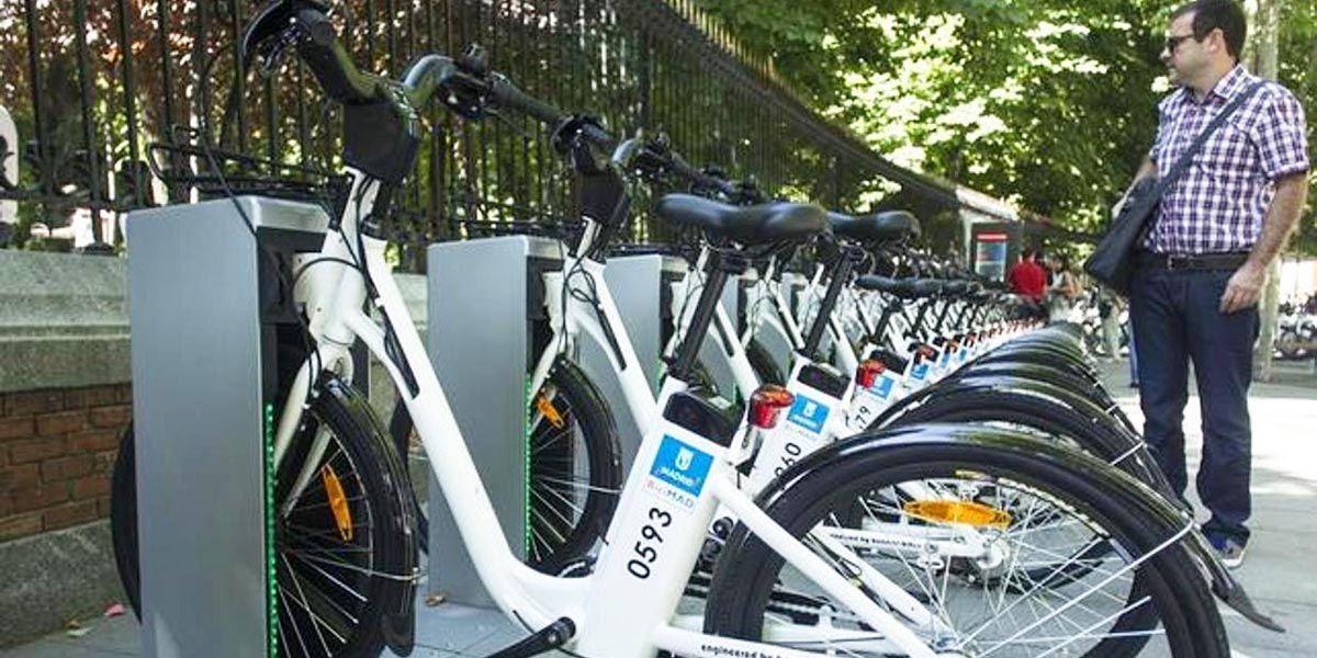 alquiler bicicletas madrid google maps