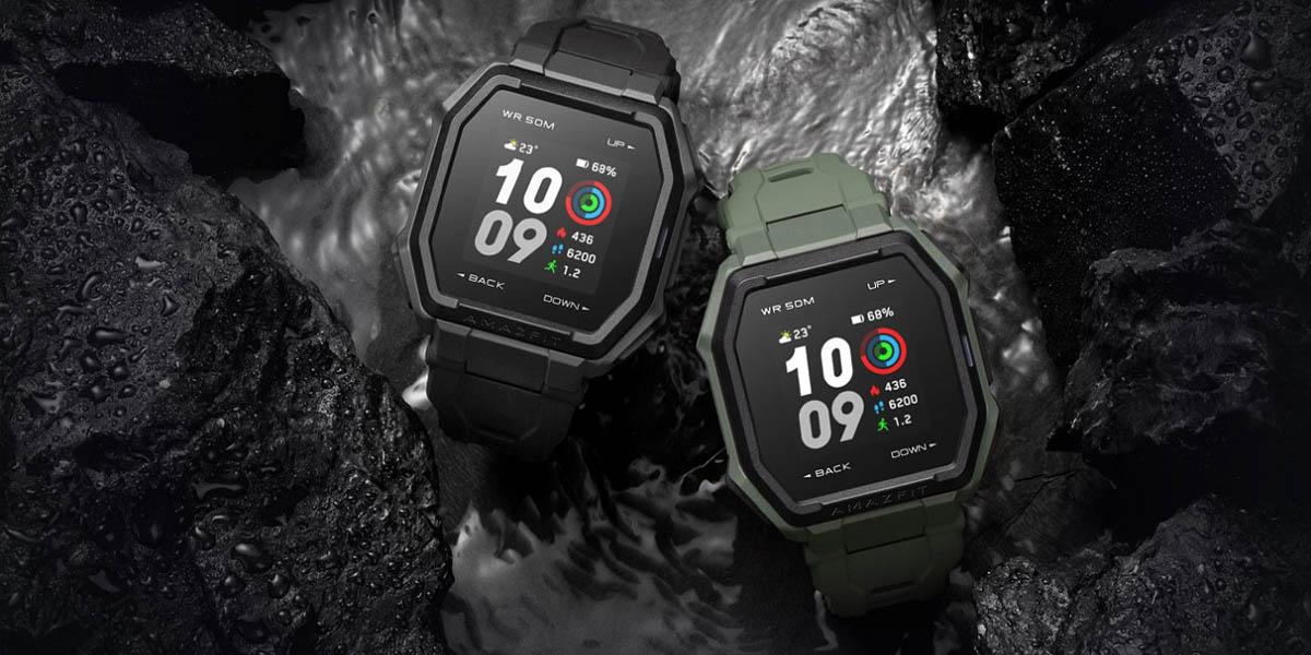 amazfit ares reloj inteligente con 70 modos deportivos