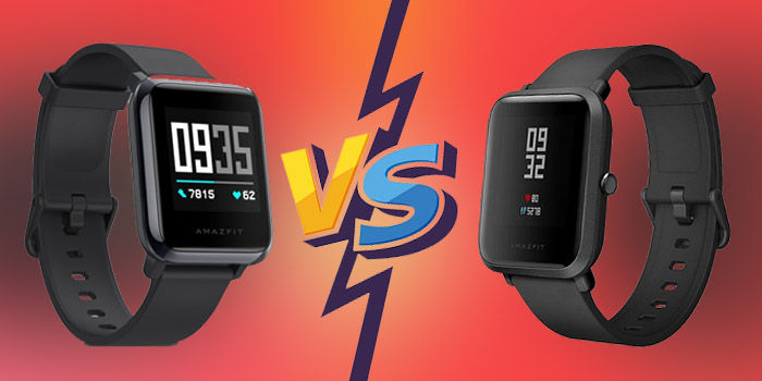 amazfit bip vs bip 2 health watch comparativa cambios