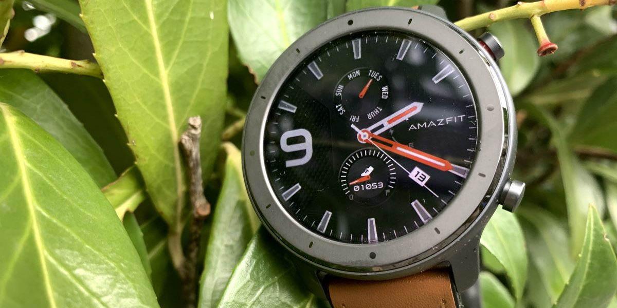 amazfit gtr smartwatch con la mejor pantalla del mercado