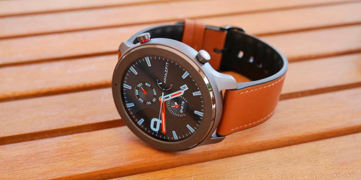 amazfit gtr smartwatch con mejor diseño para todos los usos