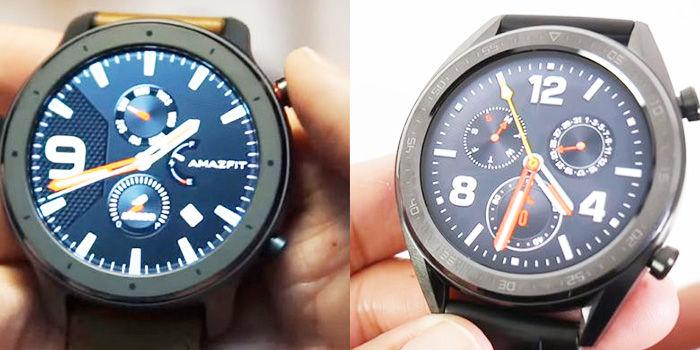 amazfit gtr vs huawei watch gt
