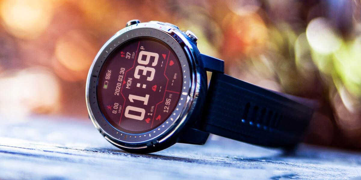 amazfit stratos 3 smartwatch para nado asequible