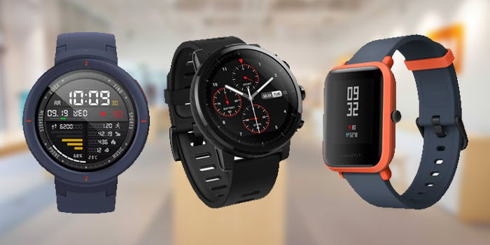 amazfit stratos vs bip vs verge comparativa