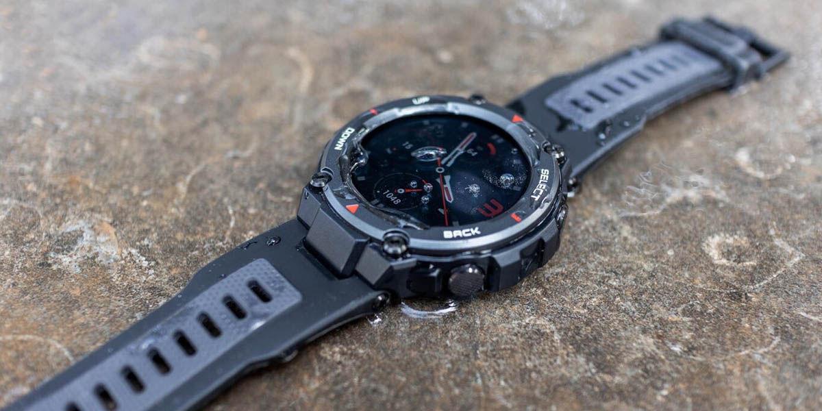 amazfit t-rex pro reloj inteligente ultra resistente