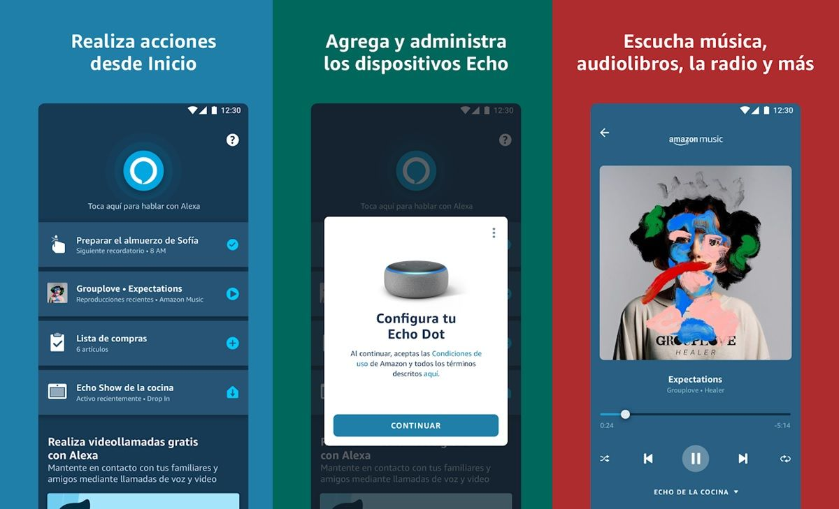 amazon alexa app android