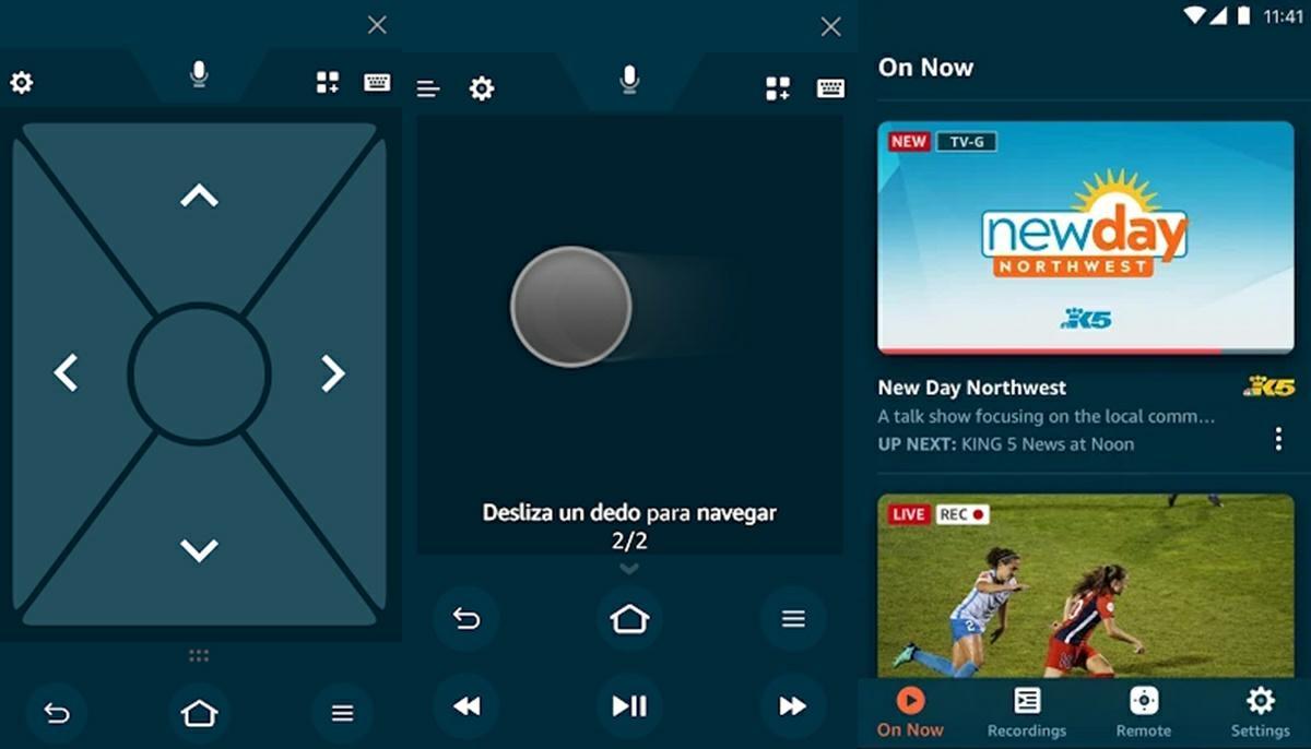 amazon fire tv app de mando a distancia