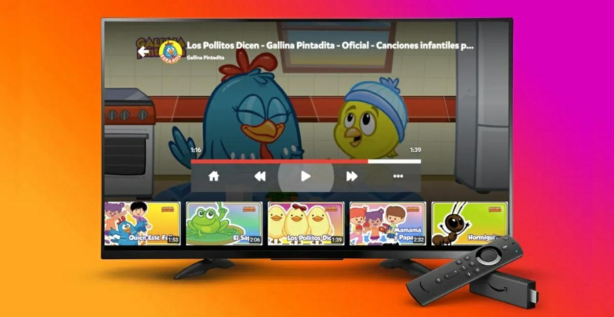 amazon fire tv para ninos