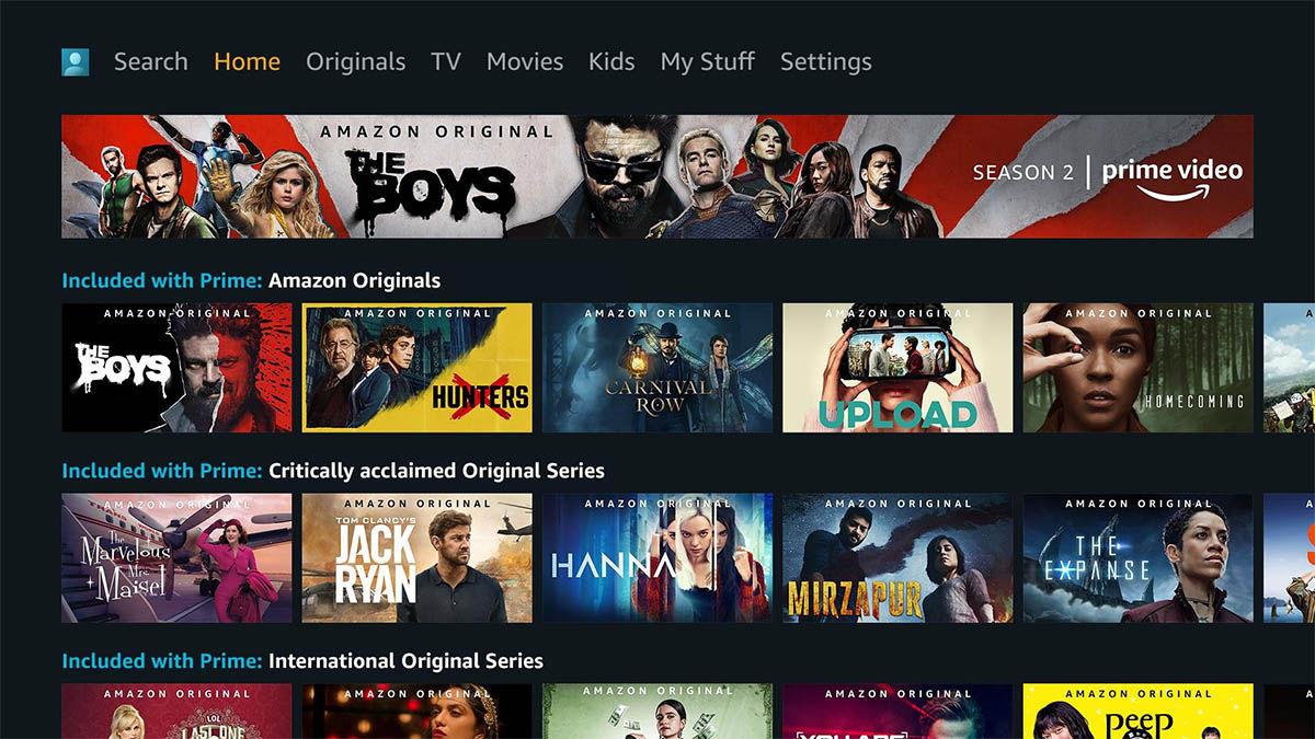 amazon prime video android tv