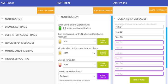 amf amazfit better notifications