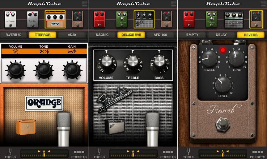 Use o seu Android como um amplificador e adicione efeitos sonoros ao seu violão 1