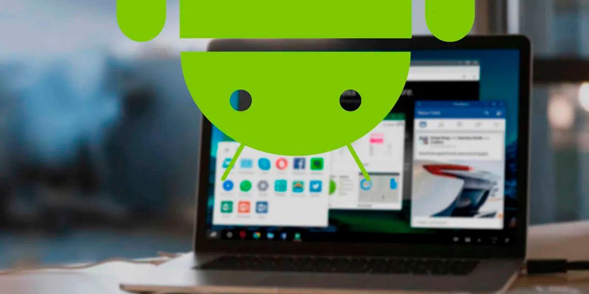 android 10 en ordenadores