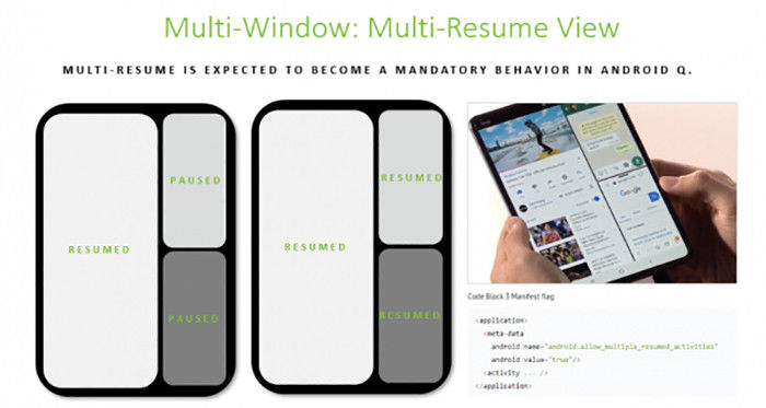android 10 multi-resume