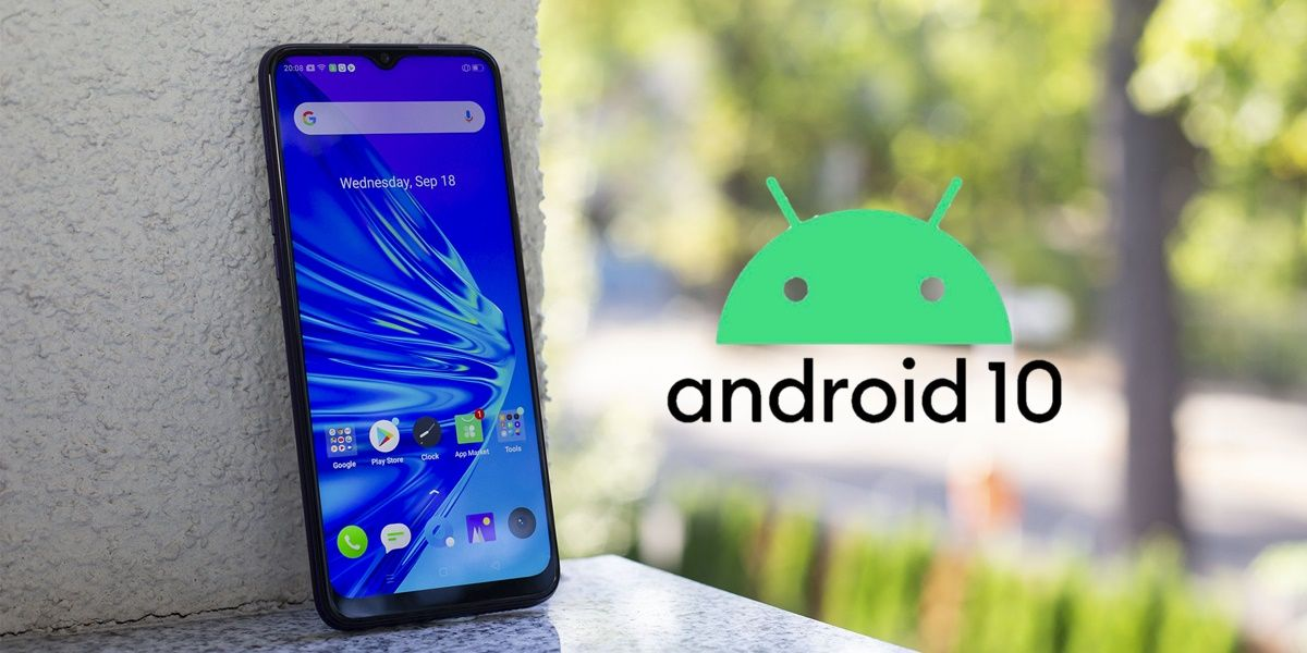 android 10 realme