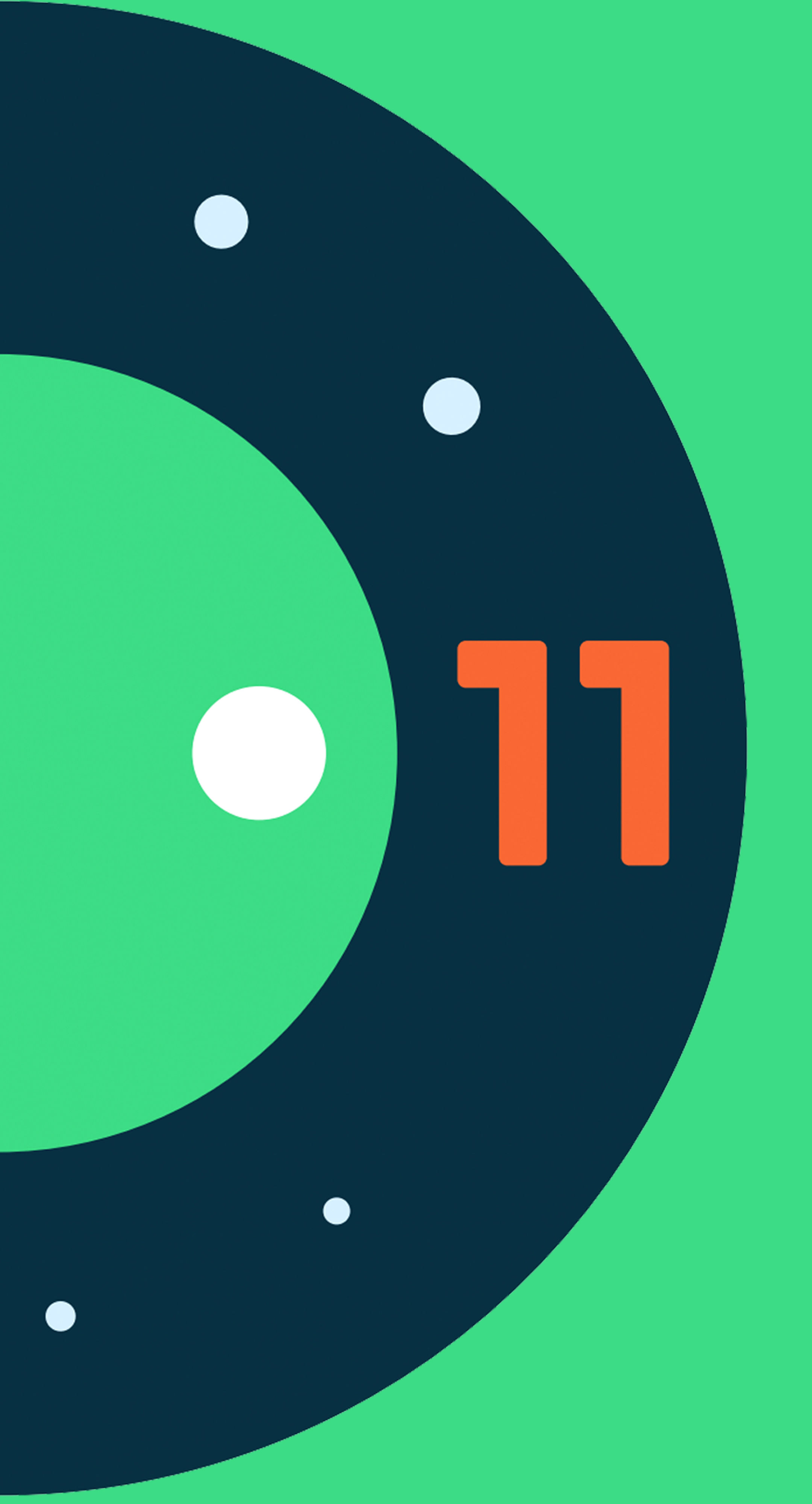 android-11-logo-large-green