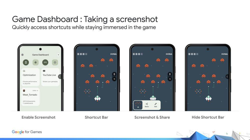 Android 12 juega mientras descargas