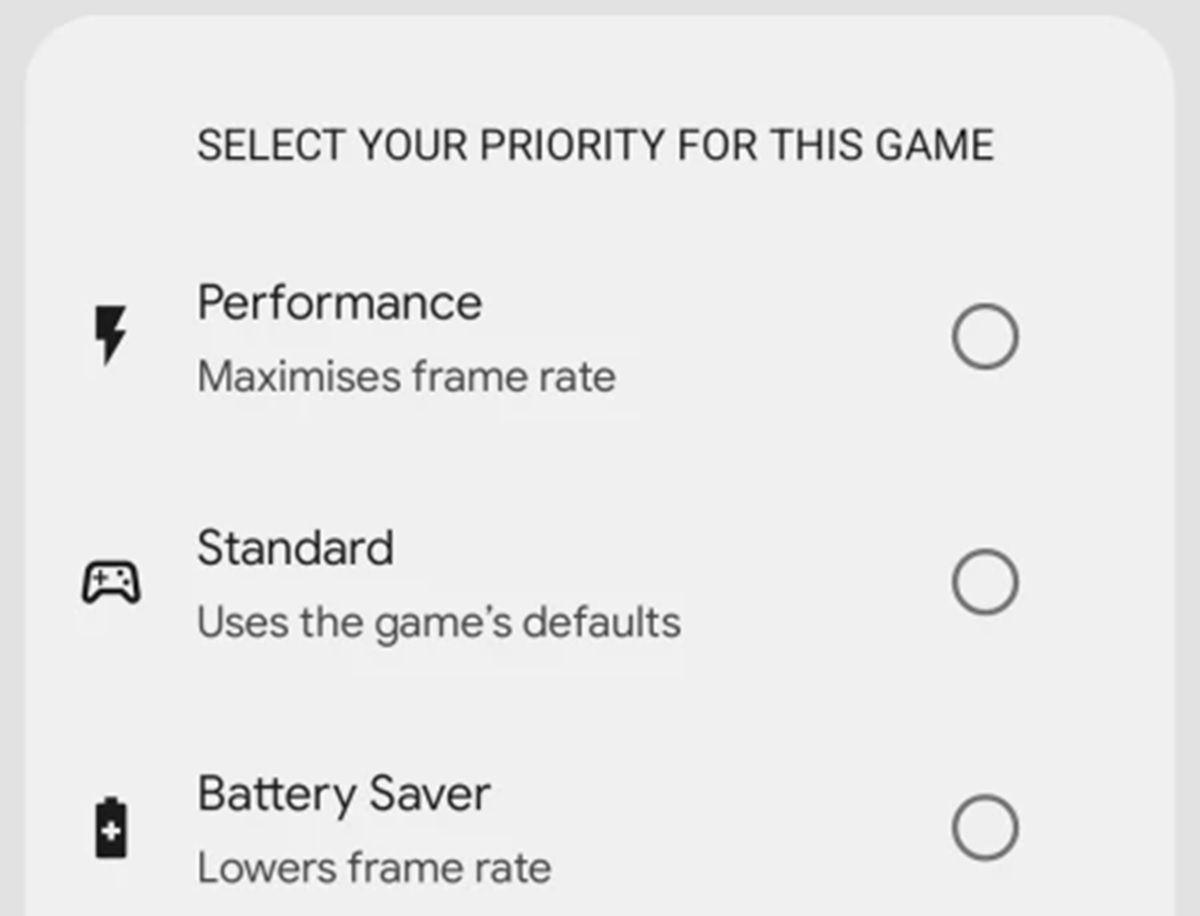 android 12 opciones de optimizacion juegos
