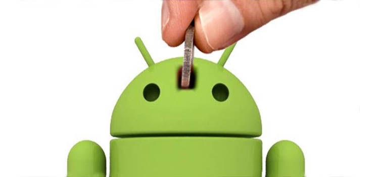Ahorra dinero en Android