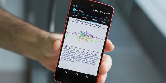 android apps que detectan terremotos
