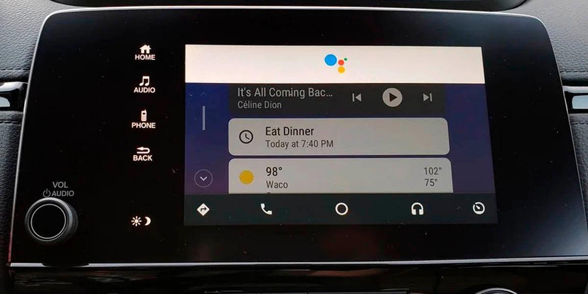 android auto es compatible con el Asistente de Google control por voz