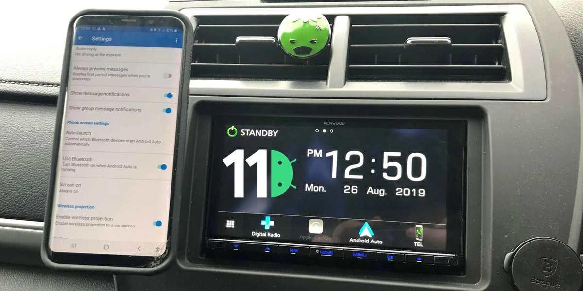 android auto inalambrico en android 11 sera compatible con todos los moviles